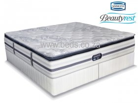 Simmons Beautyrest - Recharge Ultra - Luxury Pillow Top - King Size Bed - 200cm