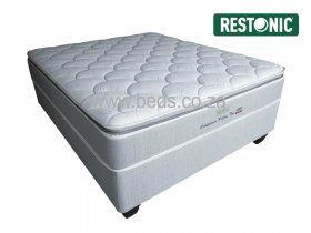 Restonic - California Medium Pillow Top - Double Bed - 200cm