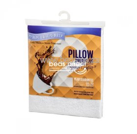Protect·A·Bed - Superior Comfort - Waterproof Pillow Protector - Std