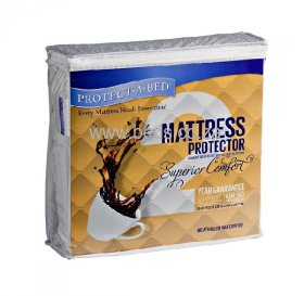 Protect·A·Bed - Superior Comfort - Waterproof Mattress Protector - King Size