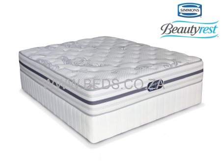 Simmons Beautyrest - Recharge Ultra - Firm - Queen Size Bed - 200cm - Click Image to Close