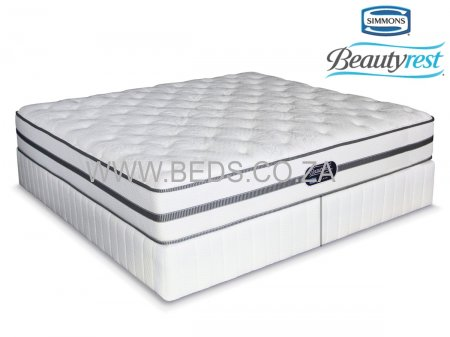 Simmons Beautyrest - Classic - Plush - King Size Bed - 200cm - Click Image to Close