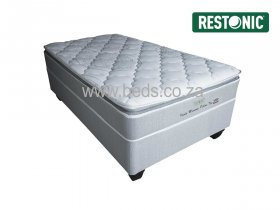 Restonic - Idaho Memory Pillow Top - Single Bed - 188cm