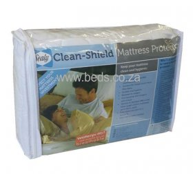 Sealy - Clean-Shield Waterproof Mattress Protector - Double
