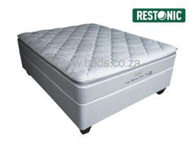 Restonic - Idaho Memory Pillow Top - Double Bed - 188cm